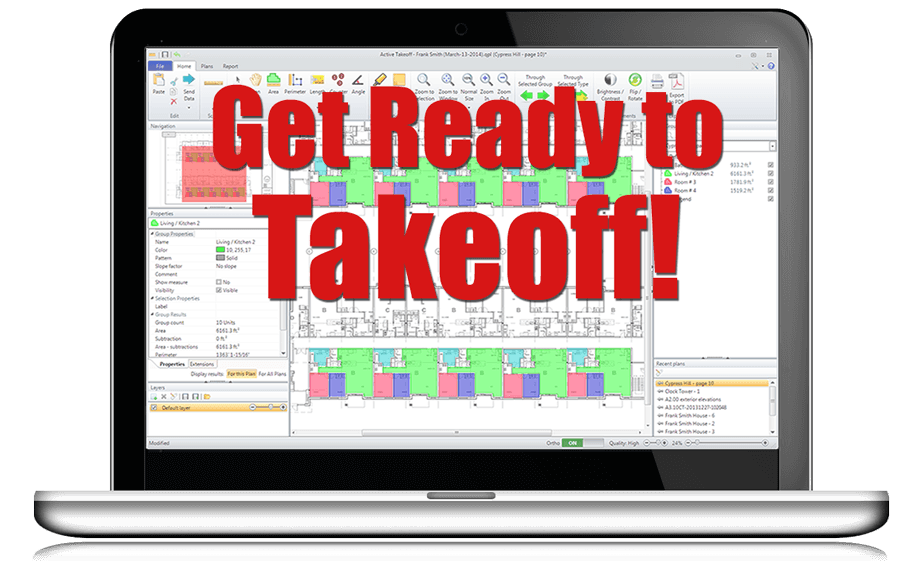 The easiest takeoff software on the market today!